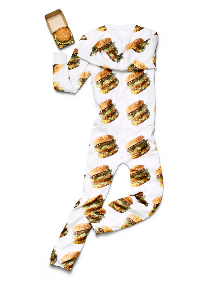 The **onesie**, which might trick you into accidentally eating your arm.