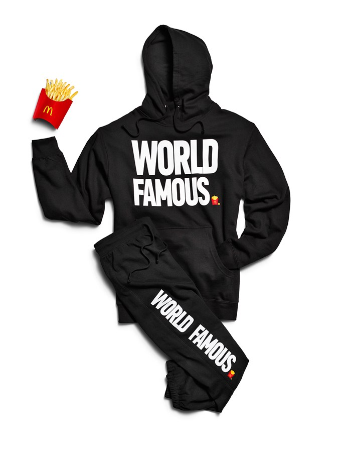 The **sweat suit**, which we'd wear outdoors TBH, because we feel ~world famous~.