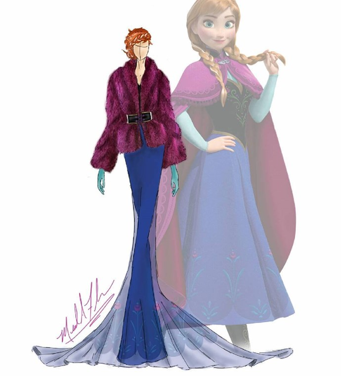 Anna from *Frozen*