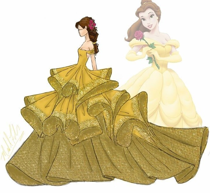 Belle from *Beauty And The Beast*