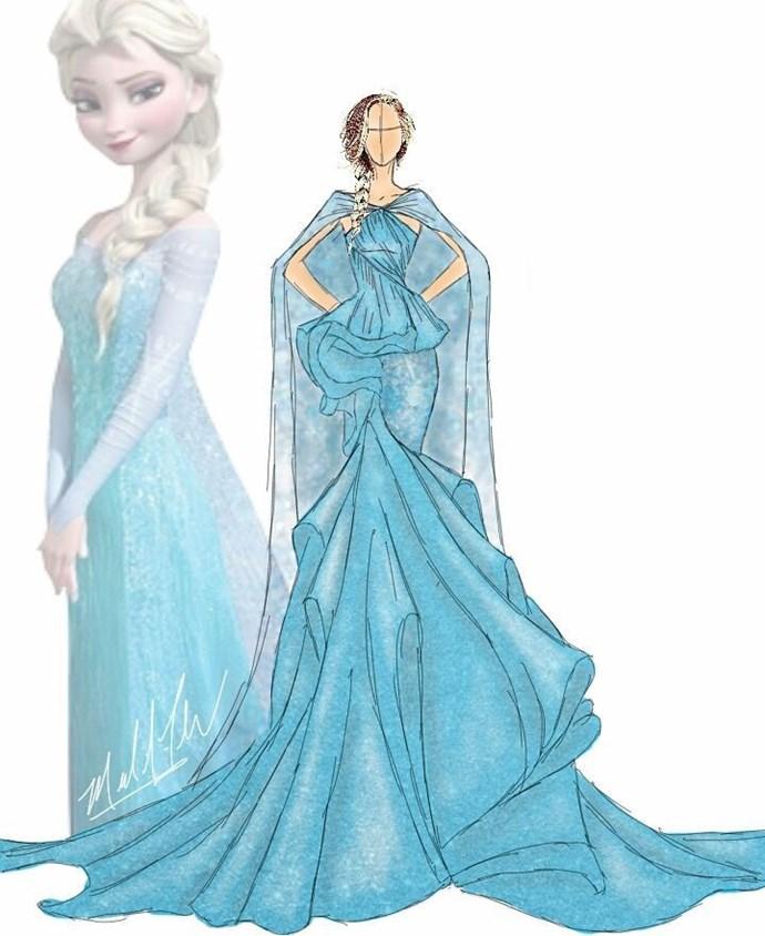 Elsa from *Frozen*