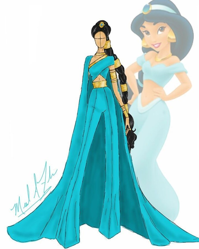Jasmine from *Aladdin*