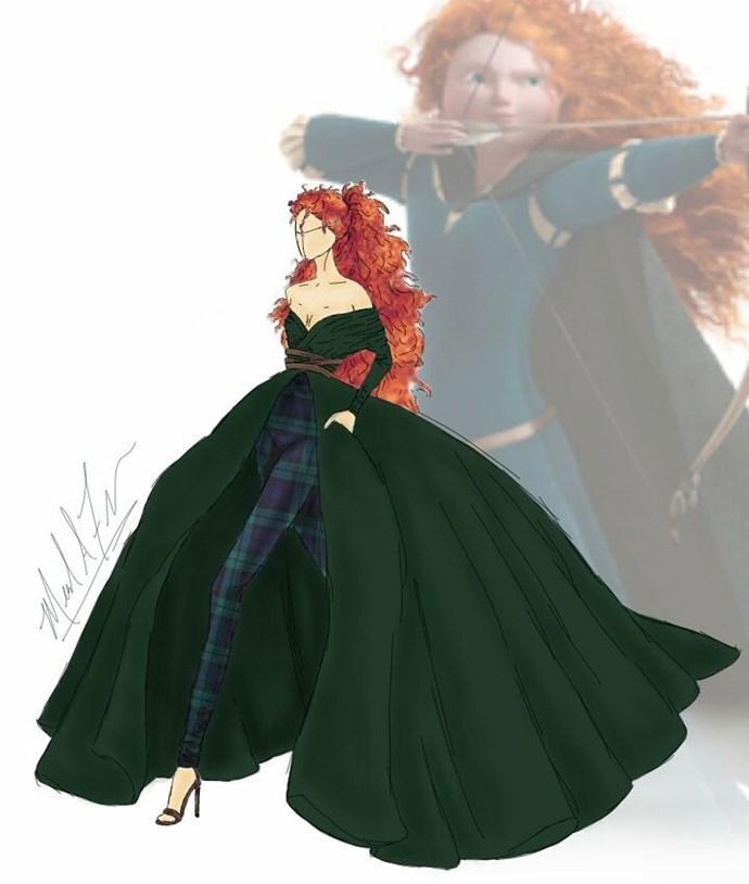 Merida from *Brave*