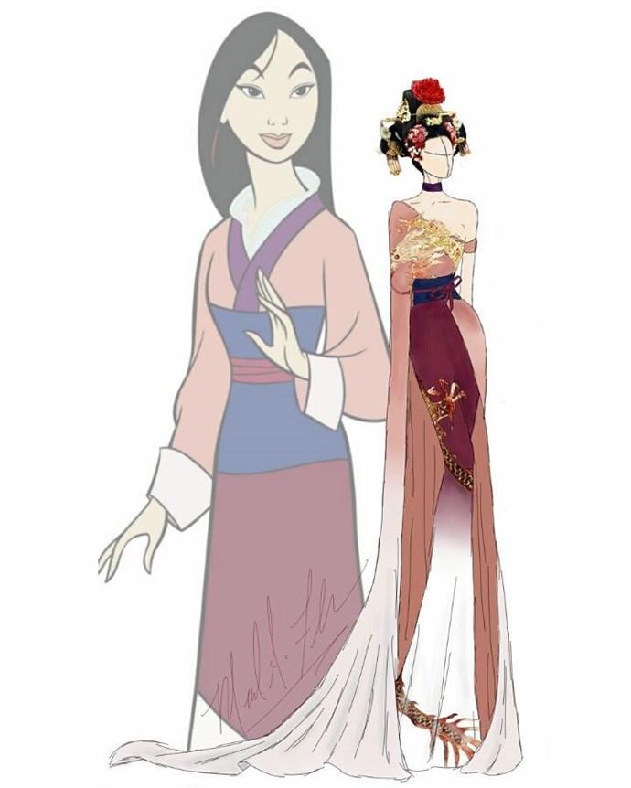 Mulan from *Mulan*