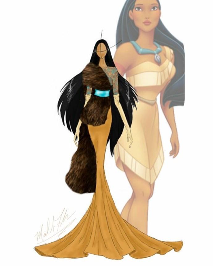 Pocahontas from *Pocahontas*