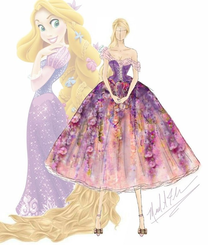 Rapunzel from *Tangled*