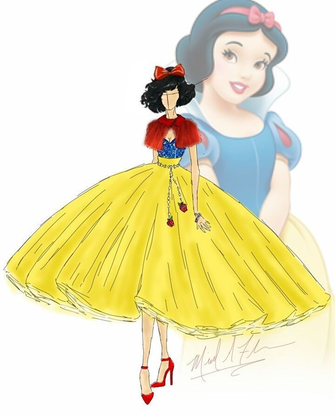 Snow White from *Snow White And The Seven Dwarves*