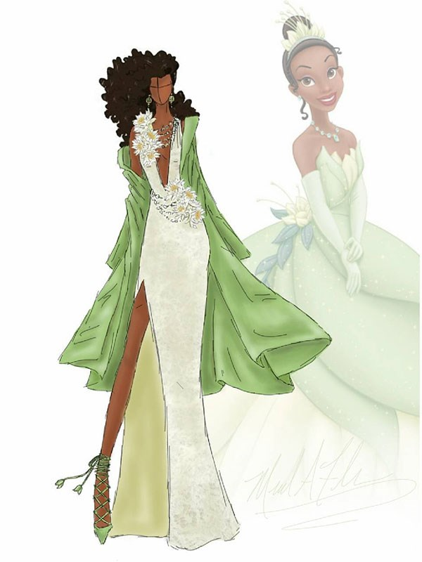Tiana from *Princess And The Frog*