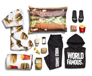 McDonald's McDelivery apparel collection