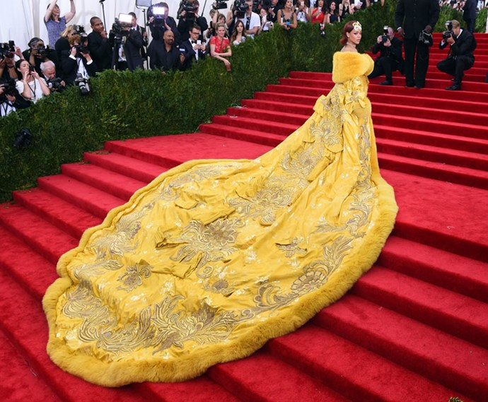 When she rocked up at the MET Gala dressed like a real-life Kween.