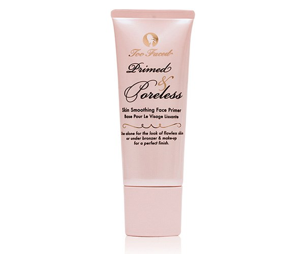 TOO FACED Primed & Poreless Skin Smoothing Face Primer, $44, at [MECCA](http://www.mecca.com.au/too-faced/primed-poreless-skin-smoothing-face-primer/I-006646.html?cgpath=brands-too#sz=36&start=37).