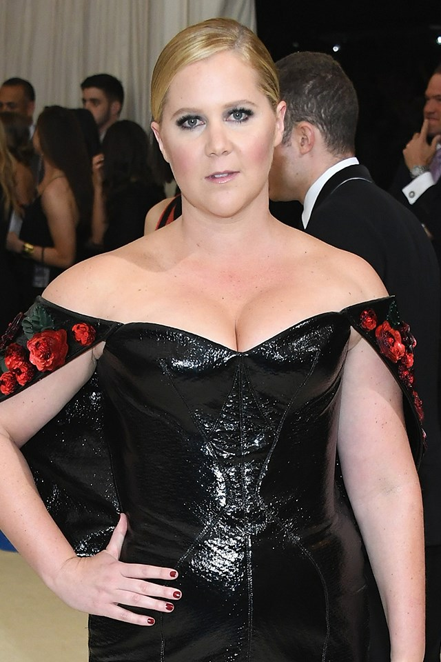 "**Amy Schumer** <br><br> Amy has never shied away from talking about her sex life on stage. At the 2015 MTV Movie Awards, she gave a little [shout out](https://mic.com/articles/115290/amy-schumer-finally-gives-us-the-female-masturbation-jokes-we-deserve#.KpN8ORlBe) to *Magic Mike XXL* for helping her with her pleasure. ""*Magic Mike XXL*. It like, really is magic,"" she said. ""Anytime I watch those guys, at least two of my fingers disappear."""
