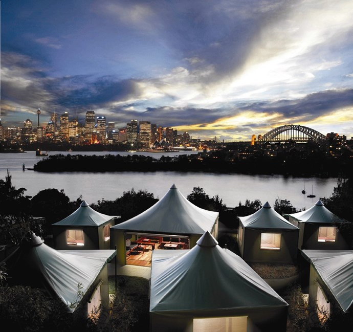 **Roar and Snore — Sydney, Australia** <br> <br> Taronga Zoo is already known as the 'zoo with a view', as it sits on Sydney Harbour with incredible views of the city, Opera House and Harbour Bridge. But, did you know that you could also sleepover at the zoo?! 'Roar and Snore' allows you evening entry into Taronga, where you will have zoo night safari, canapés and welcome drinks at the zoo campsite. It's followed by an early start where you get two behind-the-scenes tours and animal interactions.