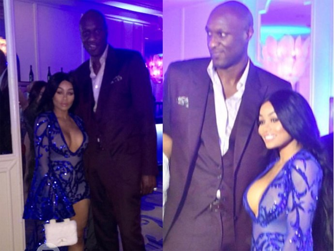 Blac Chyna took savage to a new level and hung out with Lamar Odom