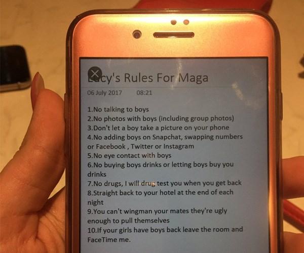 boyfriend crazy text rules