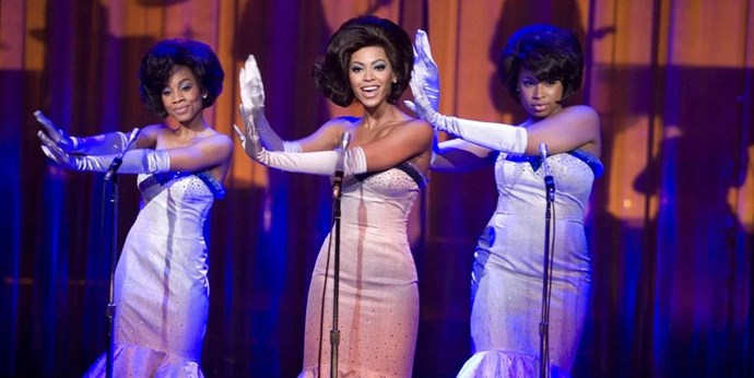 **Dreamgirls** <br> <br> Beyoncé, Motown, and an Oscar for Jennifer Hudson. Any questions?