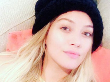 "Hilary Duff shuts down body shamers with swimsuit photo of her ""flaws"""