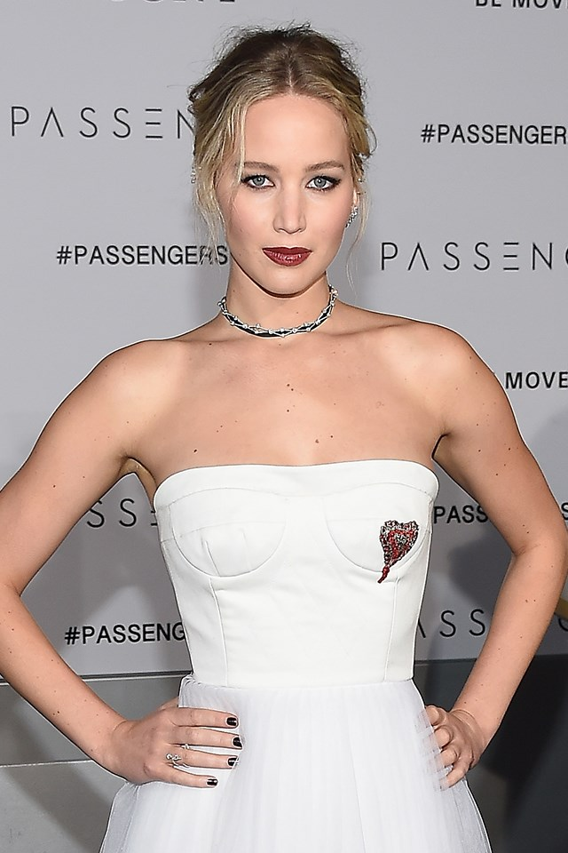 "**Jennifer Lawrence** <br><br> Jennifer Lawrence and Amy Adams both received 7 per cent cuts for their film *American Hustle*, while their male counterparts earned 9 per cent. She wrote about it in a [brilliant essay](http://www.cosmopolitan.com.au/news/jennifer-lawrence-gender-pay-gap-12121) in Lena Dunham's ""Lenny Letter"", titled ""Why Do I Make Less Than My Male Co-Stars?"" #SLAY."