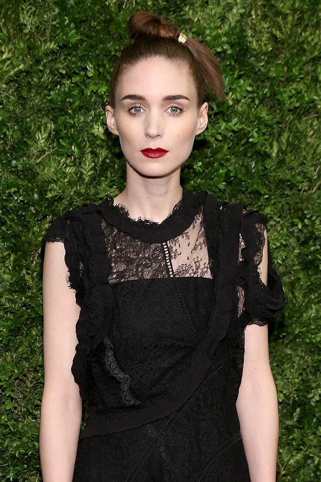 "Rooney Mara <br><br> While promoting her movie *Carol*, Rooney Mara told [*The Guardian*](https://www.theguardian.com/film/2015/oct/16/rooney-mara-hollywood-gender-pay-gap-frustrating-jennifer-lawrence), ""I've been in films where I've found out my male co-star got paid double what I got paid, and it's just a reality of the time that we live in… It's not fair, but I think about how much teachers are getting paid, or other people who are doing jobs that are so much more important than what I do, and it's kind of hard to complain about it."""
