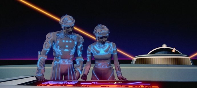 "**1982: *TRON***  Jeff Bridges starred in this sci-fi classic about a computer programmer who gets zapped inside of one. (""Computer fans may very well love it,"" the [*New York Times*] hilariously supposed in its review.) Olivia Wilde and Garrett Hedlund joined Jeff for a follow-up in 2010, *Tron: Legacy*, and a new roller coaster based on the IP is coming soon to Disney World in Florida."