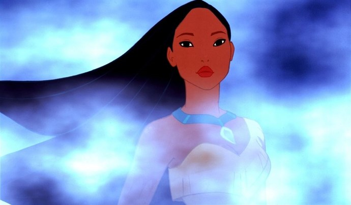 **1995: *Pocahontas***  Disney's version of the Native American princess's story takes great liberties with her life, and that historical inaccuracy understandably didn't sit well with many. But the movie was still a big hit, with stunning animation and dazzling songs like 'Just Around the Riverbend' and 'Colours of the Wind'.