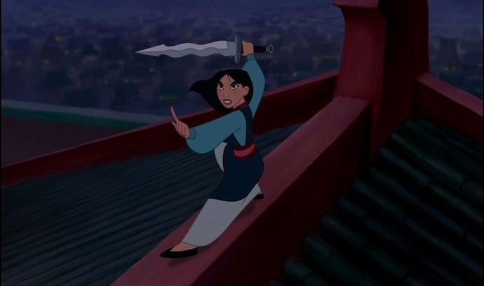 "**1998: *Mulan***  If you don't love *Mulan*, dishonour on your whole family, dishonour on you, and most importantly, dishonour on your cow. The movie was feminist AF way before movies got twitter cred for being so, thanks to a heroine who literally saved all of China. Plus, ""I'll Make a Man Out of You"" is still the perfect dong to play as you struggle to do cardio for more than 5 minutes."