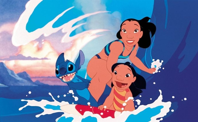 **2002: *Lilo & Stitch***  You an your dog may be close, but you're not *Lilo & Stitch* close. The quirky Hawaiian girl and her sweet but naughty alien did everything in their power to stick together — and reminded us of a few great Elvis songs along the way. *Ohana* means family, and family means making sure everyone you know has seen this movie.