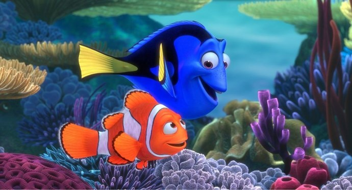 **2003: *Finding Nemo***  Audiences just kept swimming to theatres to watch the adventure of a clownfish's search for his lost son. Add in a supporting cast that included vegetarian sharks, surfer bro turtles, and a blue tang with short term memory loss, and this movie was instantly unforgettable — no offence, Dory.