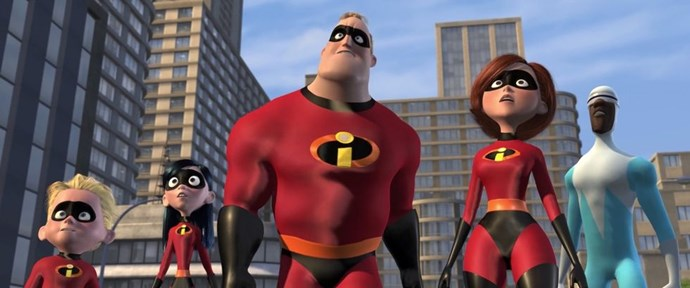 **2004: *The Incredibles***  After a string of misfires by the flagship Walt Disney Animation Studios (2001's *Atlantis: The Lost Empire*, 2002's *Treasure Planet*, 2003's *Brother Bear*, and 2004's *Home on the Range*), Pixar was poised to take over as the dominant player in Disney's animated output, both critically and commercially. *The Incredibles*, widely considered one of the greatest superhero movies of all time, made sure of that. The super family's story continues in a sequel coming June 2018 that will pick up right where this movie left off.