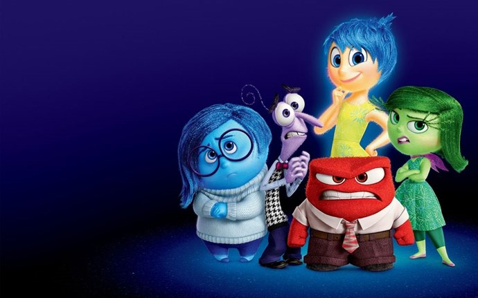 **2015: *Inside Out***  This year Pixar saw its first ever box office flop with *The Good Dinosaur*, but it also saw the biggest box office total ever for one of its original (non-sequel) films with Inside Out. The ingenious concept of personified emotions like Joy and Sadness melted hearts of all ages.