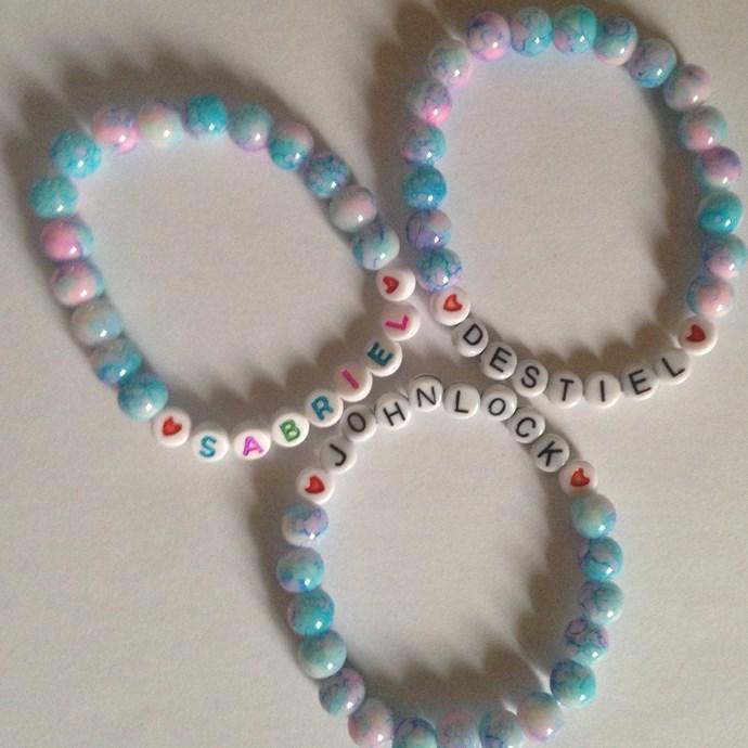 **Personalised Friendship Bracelets**