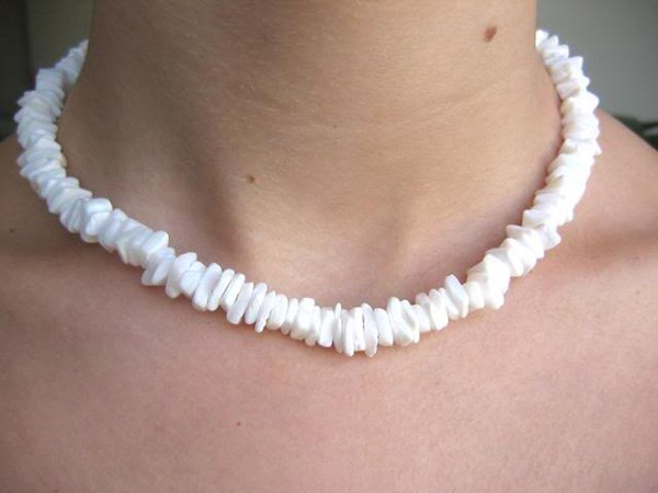 **Puka Shell Necklaces**