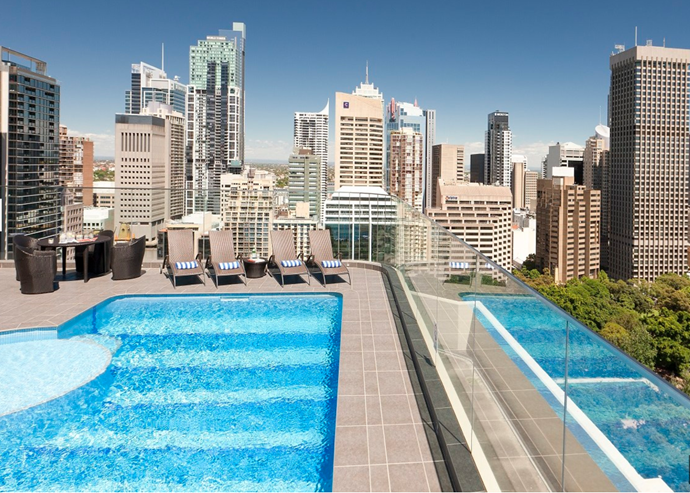**[Pullman Sydney Hyde Park](http://www.pullmansydneyhydepark.com.au/)** <br> <br> Situated right on Hyde Park, so you couldn't be closer to the action. From its quirky jungle bedroom with killer views, to the sparking rooftop pool, you'll be *very* at-home here. Walk to the Westfield for all your shopping needs, check out the Art Gallery of New South Wales, and grab a bite on Stanley Street.