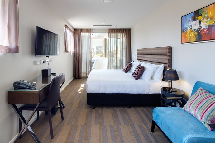 **[57 Hotel](https://www.57hotel.com.au/?gclid=CjwKEAjwiLDMBRDF586Bwe2Sq3ISJAAjZol_XYeuUcy0toFgAwi6HFWXNSIfU0pSd14QjcX0vyPyBRoC_h3w_wcB)** <br> <br> A little secret of Surry Hills, 57 Hotel is out of the rat race, but close to all the cool wine bars. It's a relatively new addition to Sydney's hotel scene but boasts quirky and charm aplenty! And why is it perfect for a gal's weekend? It has a disco lift — that's right, a lift with a flippin' disco ball that spins beats all day. Need we say more?