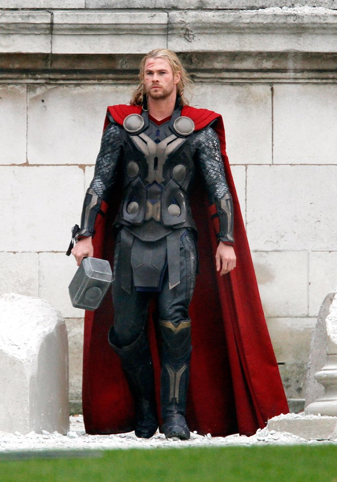 We'd take a gander at Thor's hammer we'll tell you that much...
