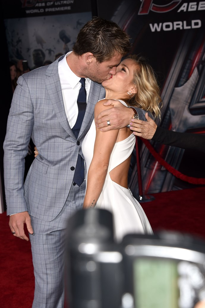 The things we'd do to be in **Elsa Pataky's** position...