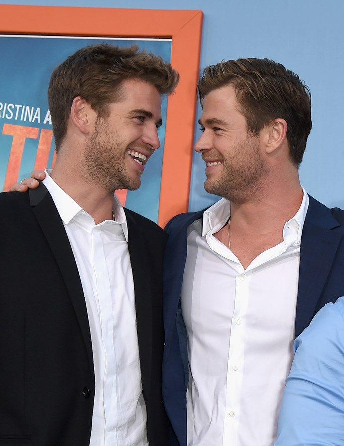 'Cos two Hemsworths are better than one.