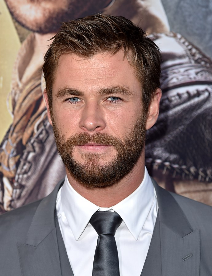 Long hair, short hair, clean-shaven or bearded - when you're as hot as this, anything looks good.