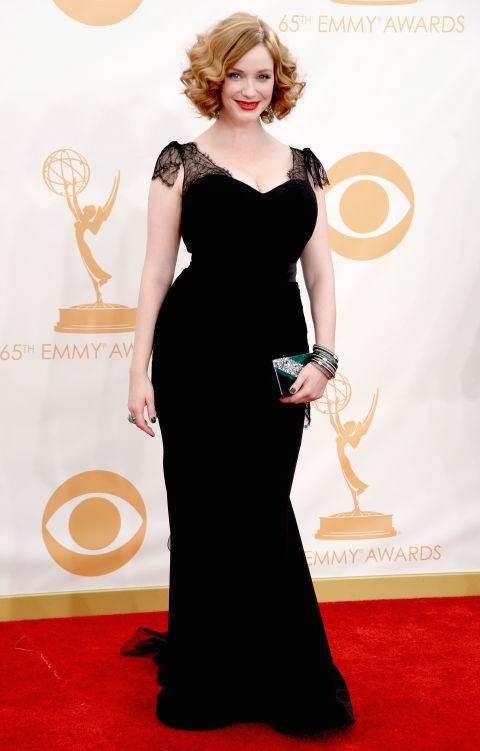 """**Christina Hendricks**<br><br>  The *Mad Men* star revealed she had trouble finding a dress for the award seasons because she's a UK size 14. """"People have been saying some nice, wonderful things about me. Yet not one designer in town will loan me a dress,"""" the actress told the *[Daily Record](http://www.dailyrecord.co.uk/entertainment/celebrity/christina-hendricks-designers-wont-give-1068344
