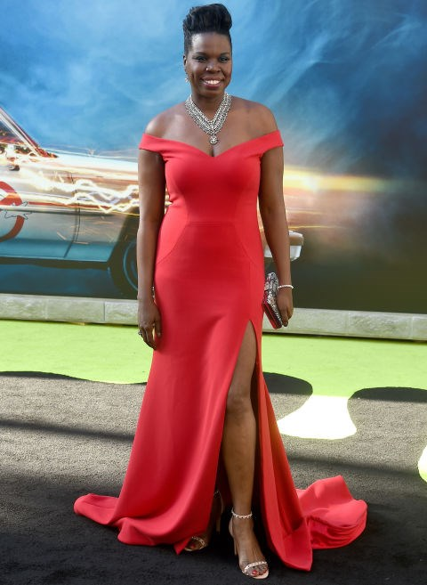 """**Leslie Jones**<br><br>  Jones lamented the lack of designers willing to dress her for the Hollywood premiere of her film *Ghostbusters* on Twitter. """"It's so funny how there are no designers wanting to help me with a premiere dress for the movie. Hmmm that will change and I remember everything,"""" the actress and comedian tweeted.  <br><br> Christian Siriano immediately stepped forward to dress the star (in the stunning red dress pictured), and later responded on Twitter: """"It shouldn't be exceptional to work with brilliant people just because they're not sample size. Congrats aren't in order, a change is."""""""