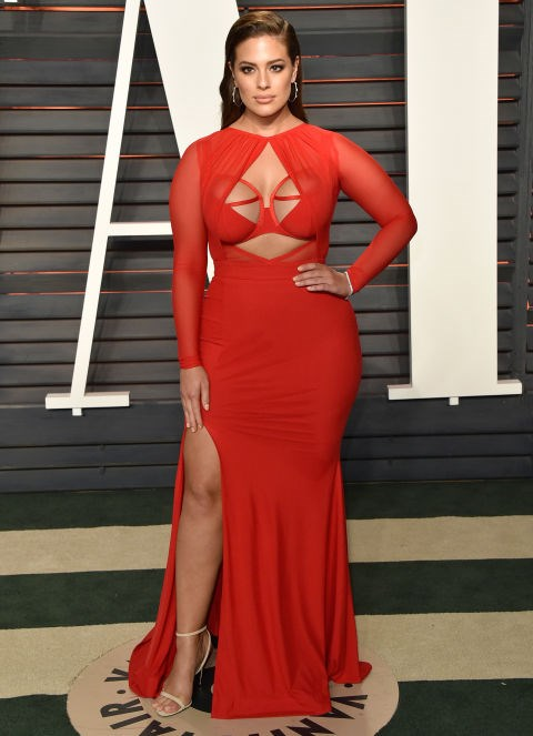"""**Ashley Graham**<br><br>  Ashley Graham looks amazing every time she hits the red carpet, but she recently admitted that she bowed out of the red carpet night of nights—The Met Gala—because no designers would dress her. """"I couldn't get a designer to dress me,"""" she told *[New York Magazine](https://www.thecut.com/2017/08/ashley-graham-supermodel.html
