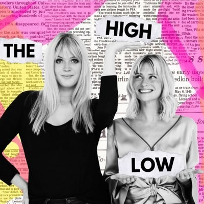 **The High Low** <br><br> *The High Low* is a weekly pop culture and news podcast run by stylish British babes Pandora Sykes and Dolly Alderton, who previously co-hosted *The Pandolly Podcast*. Each week they tackle one high-brow topic, and one low-brow topic, e.g. Emmanuel Macron and Eurovision. <br><br> Download it [here](https://itunes.apple.com/au/podcast/the-high-low/id1211338187?mt=2).