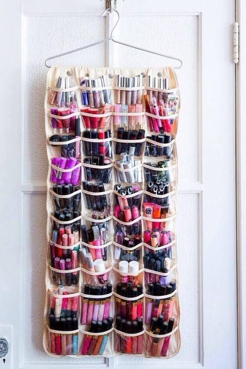 **Shoe organiser** <br> <br> Perfect for when you're completely out of space for any kind of glam room set up.  <br> <br> *[Pinterest](https://au.pinterest.com/pin/407294360034518626/)*