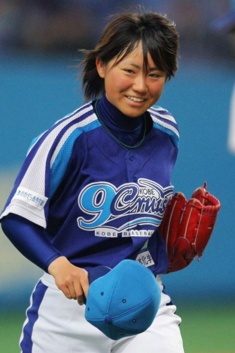 "**BASEBALL PLAYER ERI YOSHIDA GETS DRAFTED** <br><br> In 2008, 16-year-old pitcher Eri Yoshida was drafted to the Kobe 9 Cruise, becoming the first woman ever drafted by a Japanese professional baseball team. In 2010, Yoshida became the third woman in history and the first Japanese woman to play in the U.S. male professional baseball leagues on Chico Outlaws, part of minor league Golden Baseball League. She was drafted by the mostly-male professional baseball team Tochigi Golden Braves in 2017 and is still known as the ""knuckleball princess,"" a moniker she received in high school."