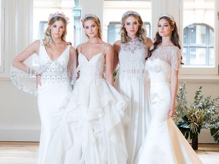 Badgley Mischka Bridal launches at Eternal Bridal in Australia