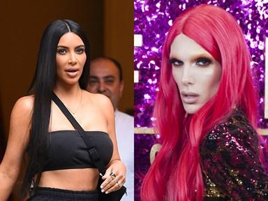 Jeffree Star has dragged Kim Kardashian's new makeup on Twitter
