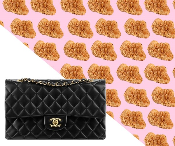 cost of chanel handbag in snacks