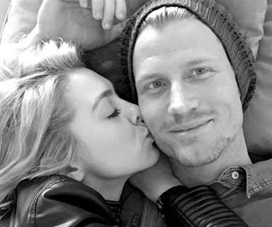 Apparently Richie Strahan has been 'crying a lot' over Alex Nation's new romance