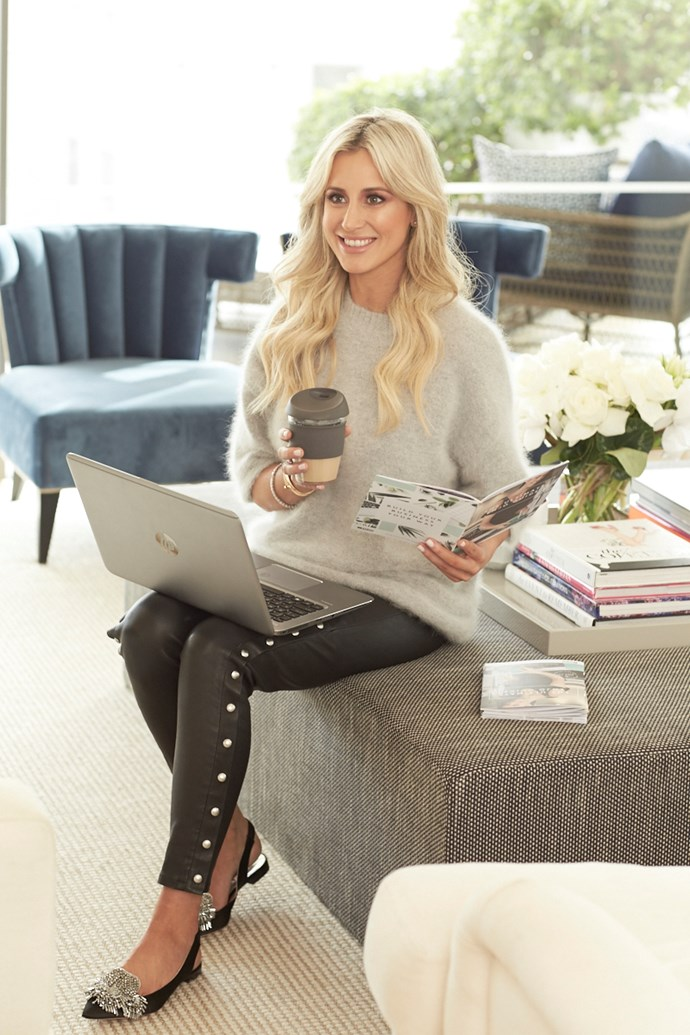 """**[Roxy Jacenko](https://www.instagram.com/roxyjacenko/?hl=en), Ambassador, Women in Business for [ENJO](https://www.enjo.com.au/?gclid=CjwKEAjwrO_MBRDxgqLa-LX041QSJABgmcMs9tXyi3rrkgnmN9n3XgnMqR53S0miAqkKG2KcRgk_WRoC-kPw_wcB)** <br> <br> """"I have never been one for to-do lists – the more you think about it, list it, the longer it will take. My tip is, as you get a task or know you need something finalised, just DO IT, then and there. Do not be the person with the mentality of, 'when I get to it', or 'I'll do it later' – it's the quickest way to drown in your workload. Be sure to clean out your inbox by EOD every day, and sort emails into folders. The more organised you are, the easier it is to stay in control and on top of things."""" <br> <br> *Image: Richard Freeman*"""