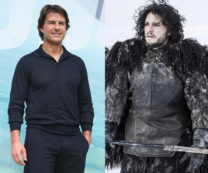 "Tom Cruise = 1.7m, 5'5"" / Jon Snow = 1.73m, 5'6"""